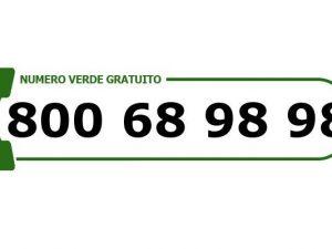 Attivo il numero verde ufficiale di Alea Ambiente:800.68.98.98
